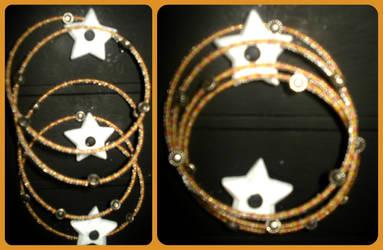 Sunflower Days Bracelet by TheFrisk