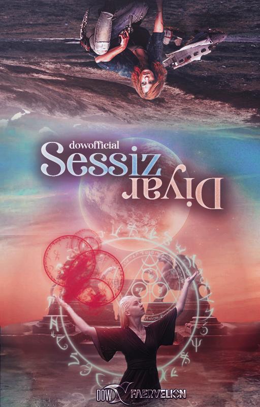 SESSIZ DIYAR | WATTPAD COVER