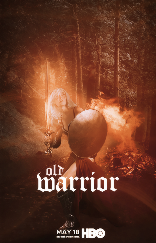 old warrior | hbo series poster