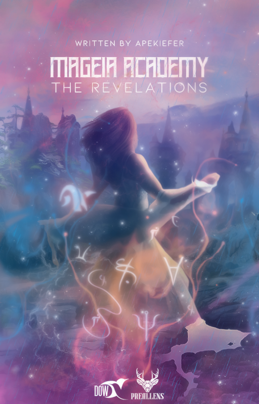 MAGEIA ACADEMY: THE REVELATIONS | WATTPAD COVER