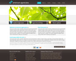 Aa Corporate website design by Gwstyle