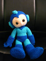 Big Crochet Megaman by Whitness
