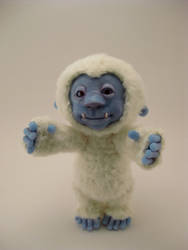 Teddy the Yeti