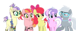 YCH ''Five Ponies'' by Angelina-Pax
