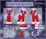 Brazen Blaze [Commission Reference]