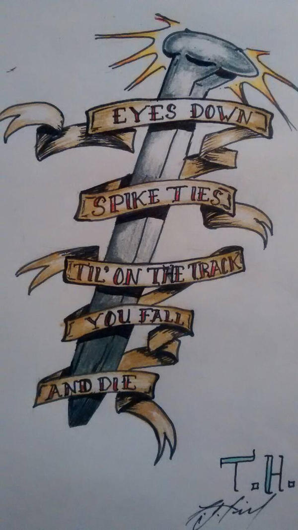 spike tattoo by TimmyJHill on DeviantArt