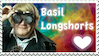 YogsQuest 2 - Basil Longshorts Stamp by EmberTheDragonlord