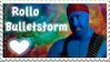 YogsQuest 2 - Rollo Bulletstorm Stamp by EmberTheDragonlord