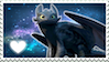 Toothless Stamp by EmberTheDragonlord