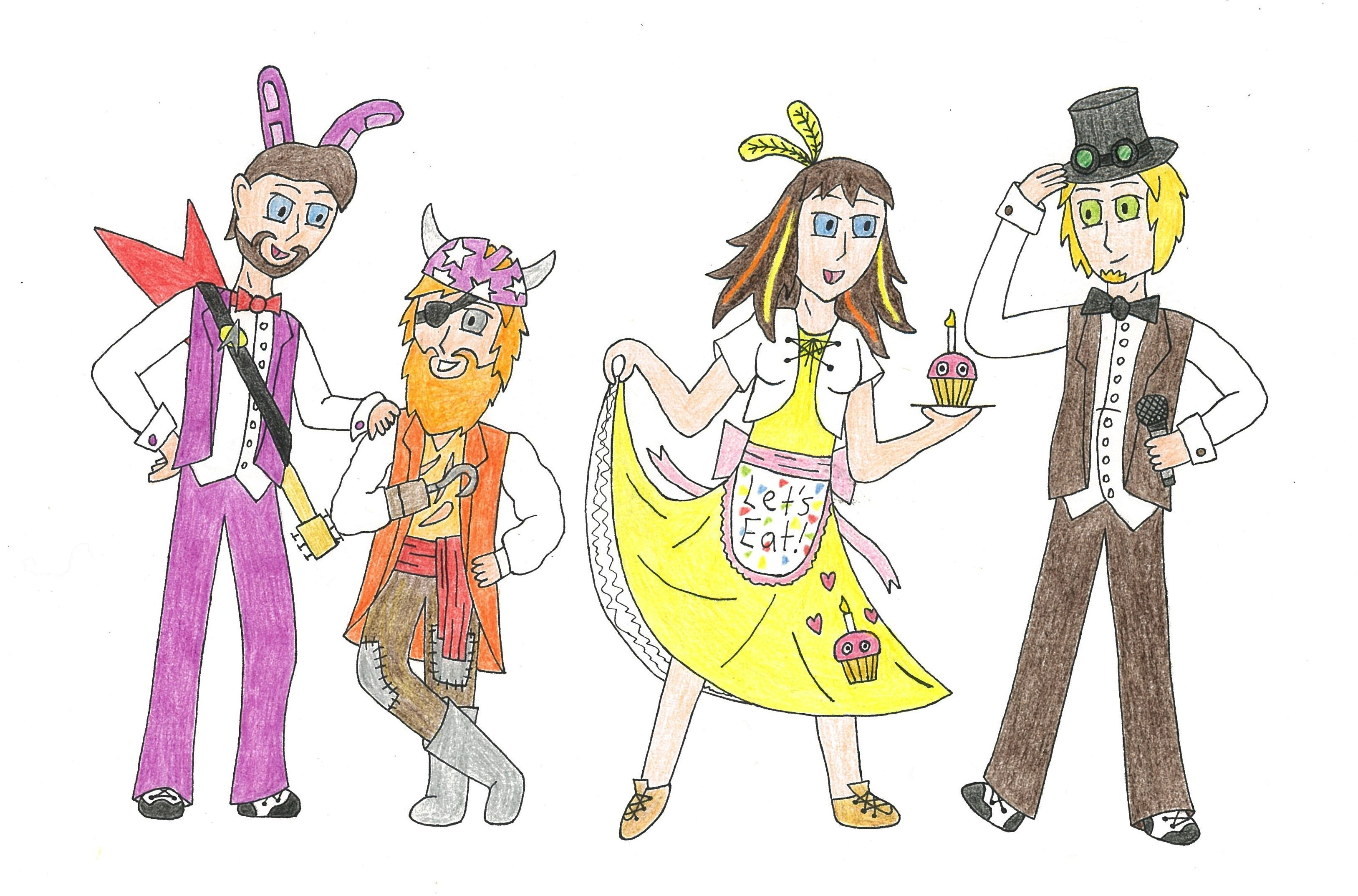 Dress up five nights at freedys -  Emberthedragonlord Five Nights At Freddy S Yogscast Dress Up By Emberthedragonlord
