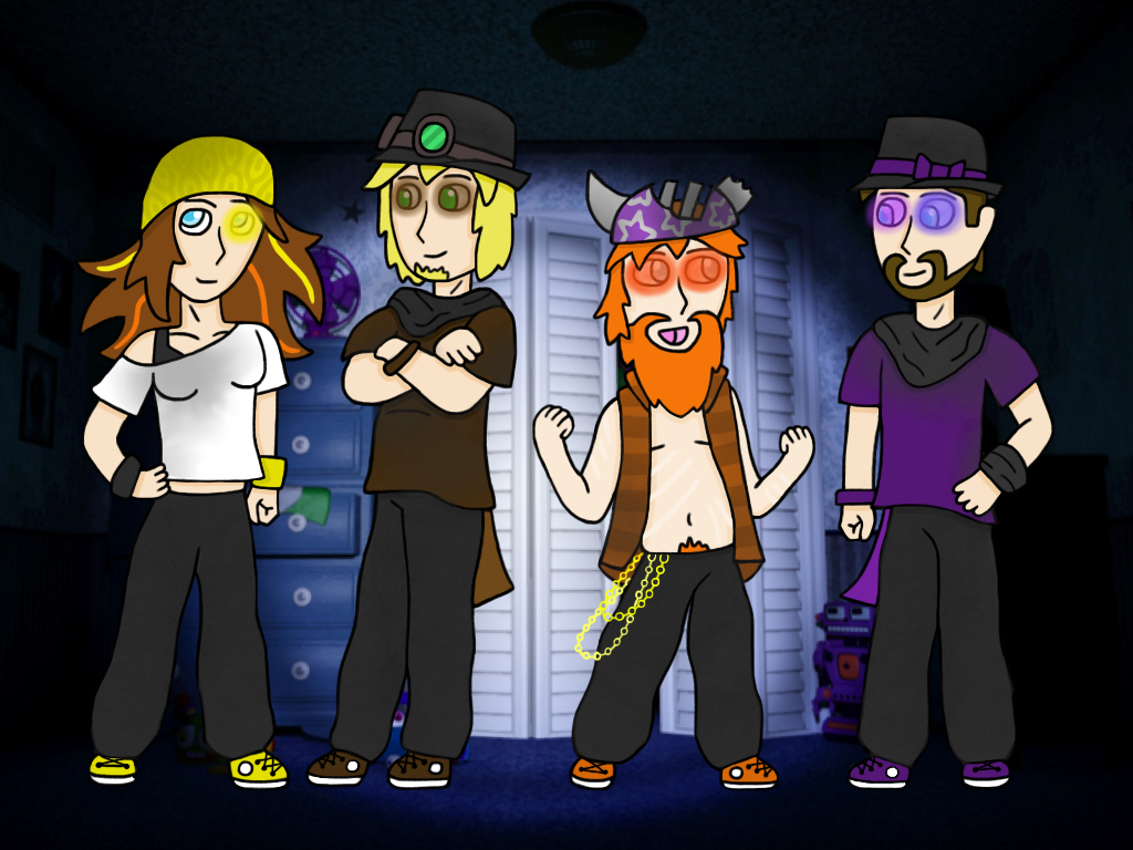 Dress up five nights at freedys - Fnaf 4 Hip Hop Dress Up By Emberthedragonlord