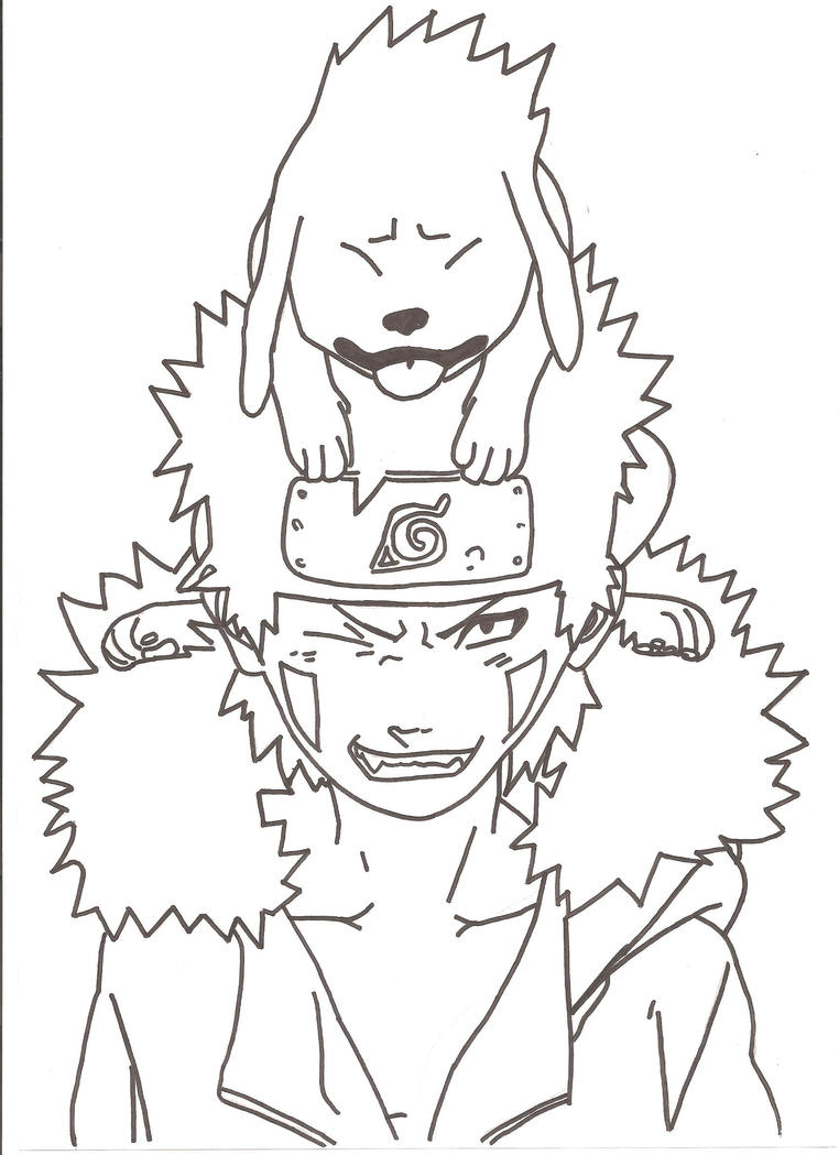 kiba coloring pages - photo#26