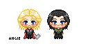Thor/Loki Free Icons by celestedoro