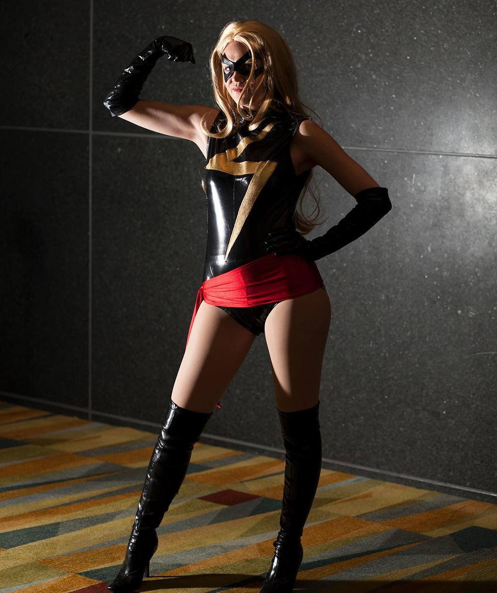 Ms. Marvel by Yunie-chan