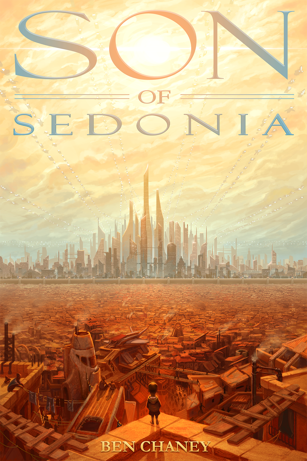 'Son of Sedonia' Book Cover by BenChaneySOS
