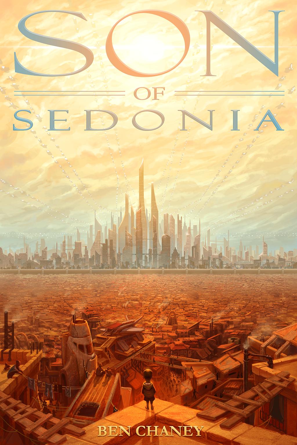 'Son of Sedonia' Book Cover by BenChaneySOS