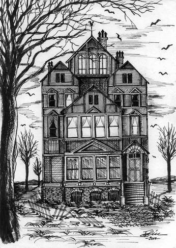 Haunted house 2 by bogdancalciu