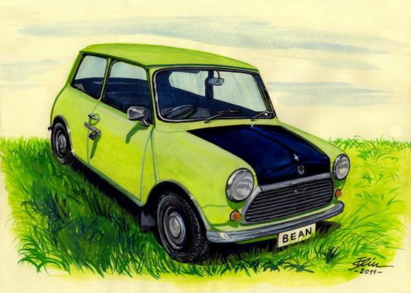 Mr Bean 39 S Car By Bogdancalciu On Deviantart