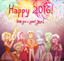 Happeh 2016 8D! by Cetrece