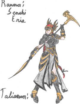 Senshi Armor: Ranma/Senshi Eris Armor Color