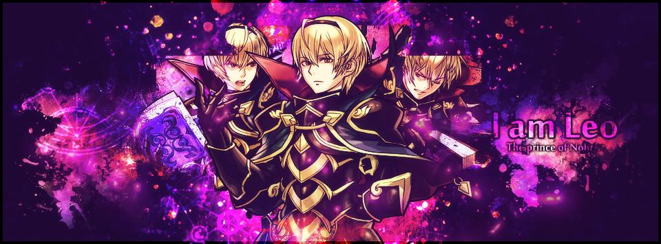 Leo Fire Emblem Facebook Cover by LibraDesigns