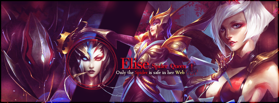 Elise League of Legends Banner by LibraDesigns