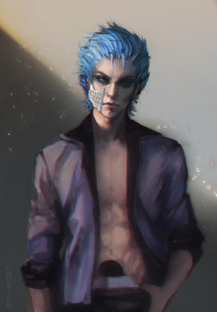 Grimmjow Jaggerjack [Bleach] by CHURIEQ