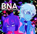 BNA Shirou and Michiru fanart