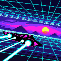 Synthwave Space Trip