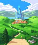 Blue Castle City v2.0