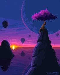 Pixeltober Day 8 - TREE
