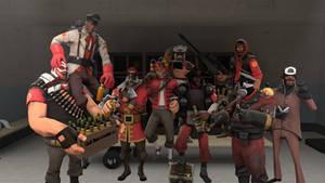 [SFM] My Team of Fabulous Mercenaries