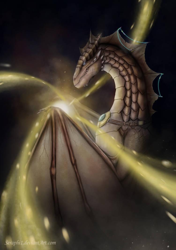 Dragon sorceress by Seraphi91