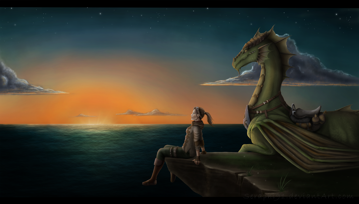 A moment of peace by Seraphi91