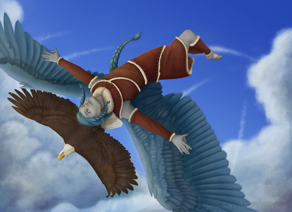 [CE] Soaring by Seraphi91