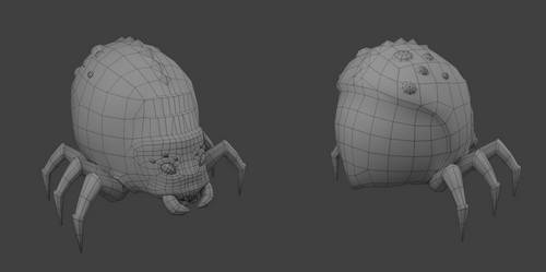 3D bugWIP by Seraphi91