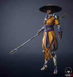 Warrior Monk 3D