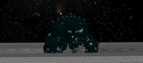 Attack The Block Alien by RoZilla42