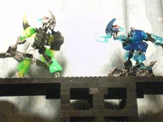 (mutant Bounty Hunter)   Nemesis collide by RoZilla42