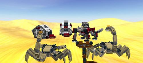 lego zoids convoy ambush by RoZilla42