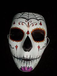 Dia de los muertos mask 2 by originalclosetnerd