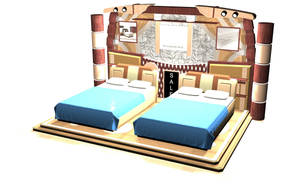 Exhibition Bed Concept by JBVTG