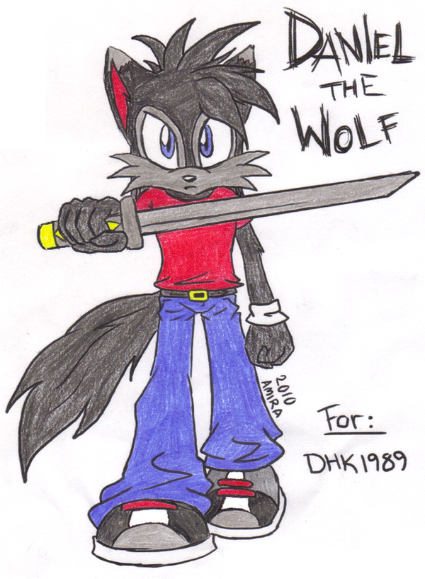 Daniel the Wolf :Updated Look: by DHK1989