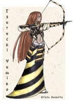 Tsuruchi Yumiko by PookaWitch