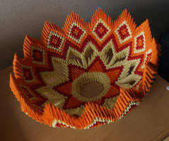 Russian Bowl (3D Origami) by Denierim