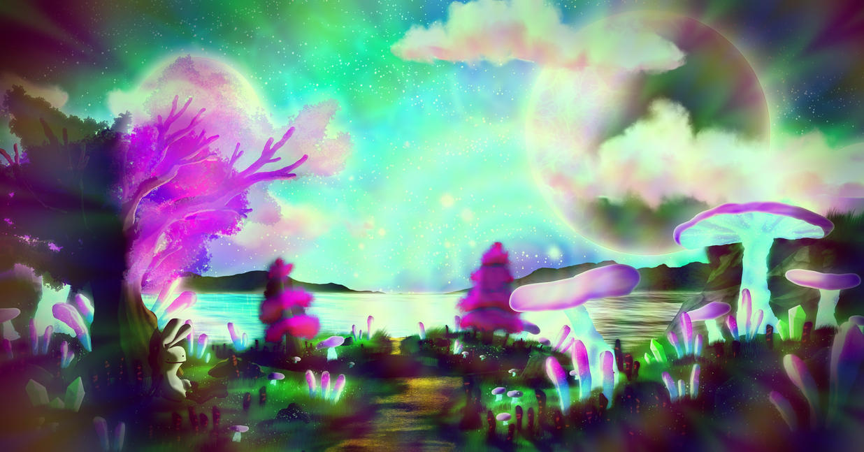Psychedelic by Dumb-Bunnies