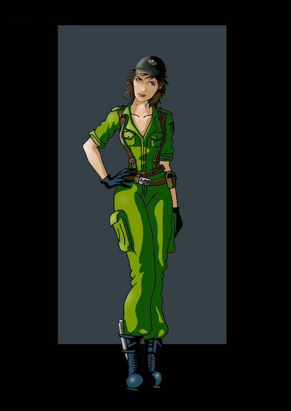 lady jaye by nightwing1975