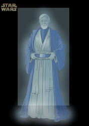 obi wans ghost by nightwing1975