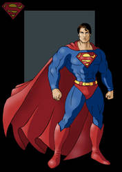 superman by nightwing1975