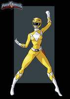 yellow ranger by nightwing1975